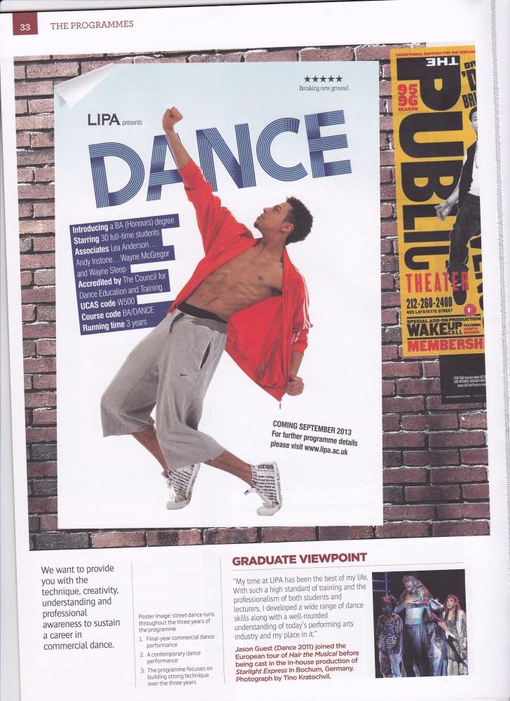 LIPA Dance Photography